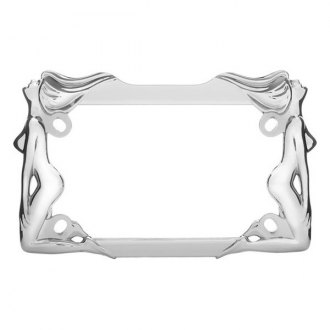 Cruiser® - Motorcycle Twins Chrome License Frame
