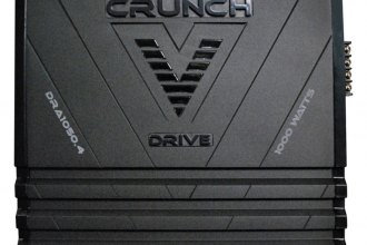 Crunch® - V-Drive Series Class AB 4-Channel 1000W Amplifier