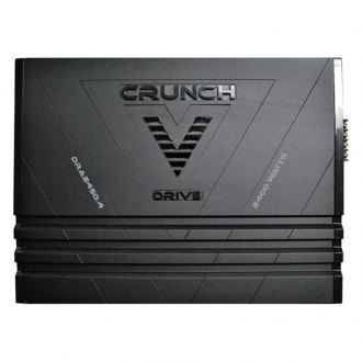 Crunch® - V-Drive Series Class AB 4-Channel 2400W Amplifier