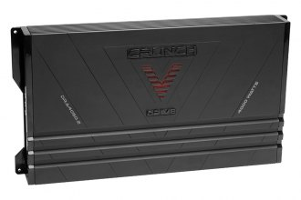 Crunch® - V-Drive Series Class AB 2-Channel 4000W Amplifier