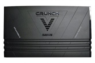 Crunch® - V-Drive Series Class AB 4-Channel 4000W Amplifier