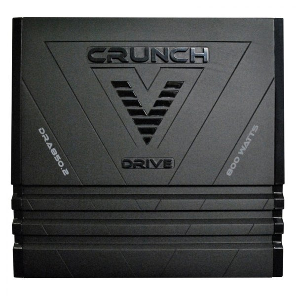 Crunch® - V-Drive Series Class A/B 2-Channel 800W Amplifier