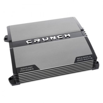 Crunch® - Ground Pounder Series Class AB 4-Channel 1000W Amplifier