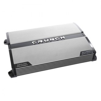 Crunch® - Ground Pounder Series Class AB Monoblock 1500W Amplifier
