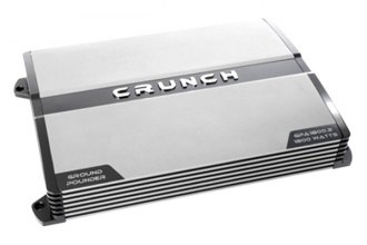Crunch® - Ground Pounder Series Class AB 2-Channel 1800W Amplifier