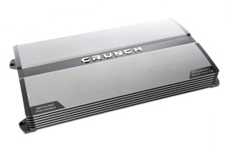 Crunch® - Ground Pounder Series Class AB Monoblock 2000W Amplifier