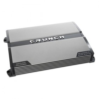 Crunch® - Ground Pounder Series Class AB 4-Channel 2000W Amplifier