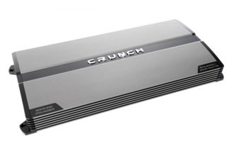 Crunch® - Ground Pounder Series Class AB Monoblock 3000W Amplifier