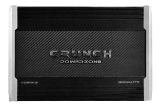 Crunch® - Powerzone Series Class AB 2-Channel 1800W Amplifier