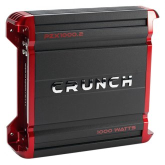 Crunch® - Powerzone X Series Class AB 2-Channel 1000W Amplifier
