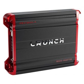 Crunch® - Powerzone X Series Class AB 4-Channel 1200W Amplifier