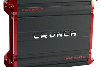 Crunch® - Powerzone X Series Class AB 2-Channel 1300W Amplifier