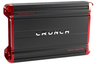 Crunch® - Powerzone X Series Class AB 2-Channel 1800W Amplifier