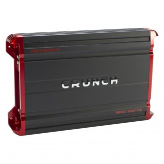 Crunch® - Powerzone X Series Class D 4-Channel 1800W Amplifier