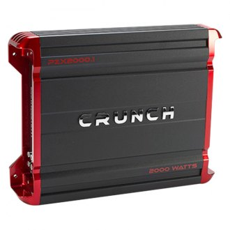 Crunch® - Powerzone X Series Class AB Monoblock 2000W Amplifier