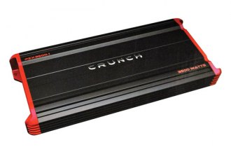 Crunch® - Powerzone X Series Class AB Monoblock 3500W Amplifier