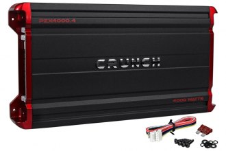 Crunch® - Powerzone X Series Class D 4-Channel 4000W Amplifier