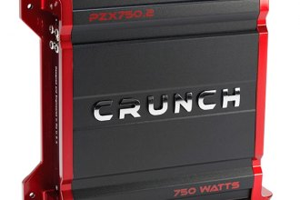 Crunch® - Powerzone X Series Class AB 2-Channel 750W Amplifier