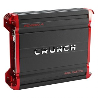 Crunch® - Powerzone X Series Class AB 4-Channel 900W Amplifier