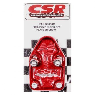 CSR Performance® - Fuel Pump Block-Off Plate