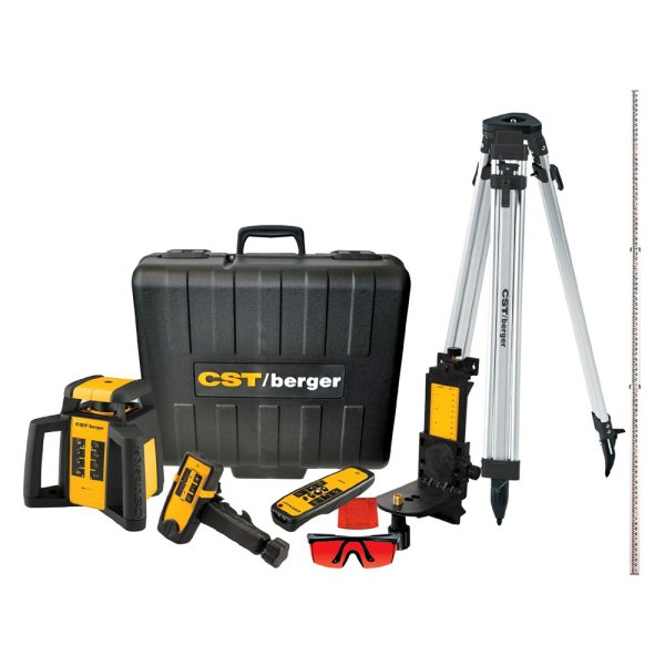 CST/berger® - Horizontal/Vertical Rotating Laser Complete Kit