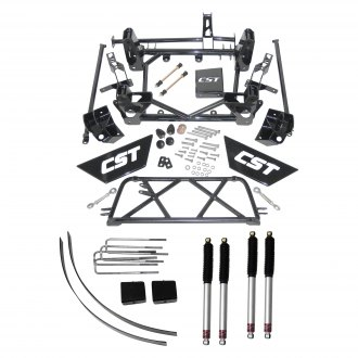 "CST Performance Suspension® - 9"" x 7"" Front and Rear Suspension Lift Kit"