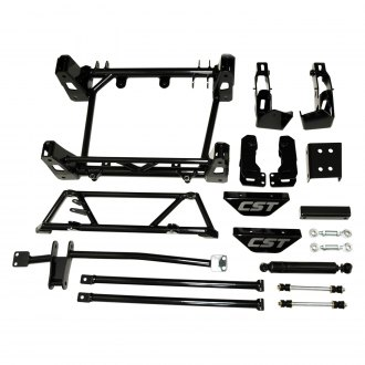 "CST Performance Suspension® - 6""-8"" 6""-8"" x 4"" Adjustable Front and Rear Front and Rear Suspension Lift Kit"