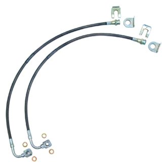 Currie® - Braided Brake Hose Kit