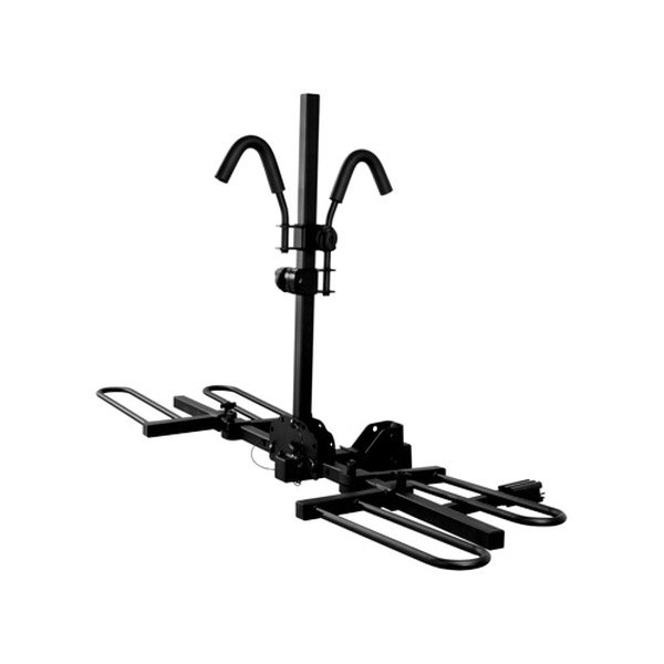CURT® - Tray-Style Hitch Mounted Bike Rack for 2 Bikes