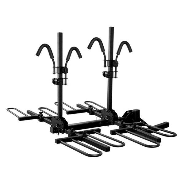 Curt 18086 Tray Style Hitch Mount Bike Rack 4 Bike Fits 2