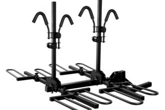 CURT® - Tray-Style Hitch Mounted Bike Rack for 4 Bikes