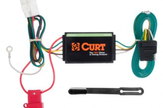 CURT® 56040 - T-Connector (4-Way Flat, Circuit Protected and Powered)