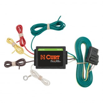CURT® - Tail Light Converter (3 To 2-Wire System, Circuit Protected)