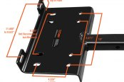"CURT® - Winch Plate for 2"" Receivers"