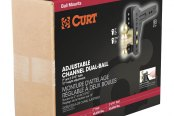 "CURT® - Adjustable Channel-Style Dual Ball Mount for 2-1/2"" Receivers"