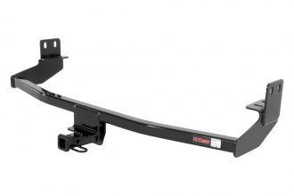 CURT® - Class 1 Black Trailer Hitch with Receiver Opening