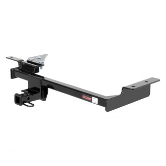 CURT® - Class 1 Square Concealed Trailer Hitch with Receiver Opening (W/O Insert, 2000/200 Weight Capacity)