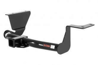 CURT® - Class 3 Black Trailer Hitch with Receiver Opening