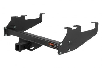 CURT® - Class 5 Black Trailer Hitch with Receiver Opening