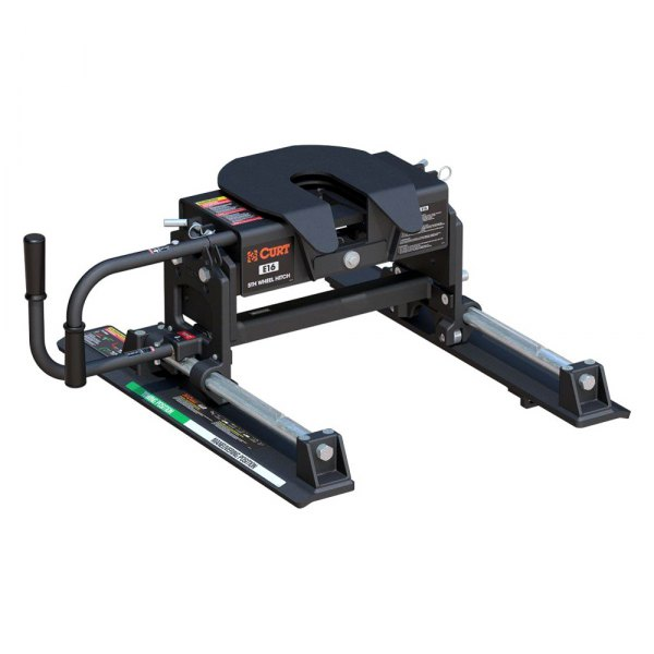 CURT® - E16 Series 5th Wheel Hitch Head with Roller