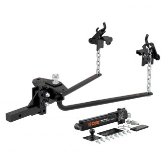 "CURT® - Weight Distribution Hitch with 2-5/16'' Trailer Ball and Sway Control for 2"" Receivers"
