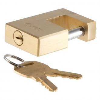 CURT® - Solid Brass Coupler Lock