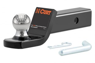 CURT® - Class 3 Fusion Gloss Black Powdercoated Ball Mount