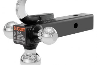 CURT® - Multi-Ball Mount With Tow Hook