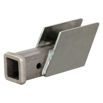 CURT® - Weld-On Raw Hitch Box with Receiver Opening and Collar