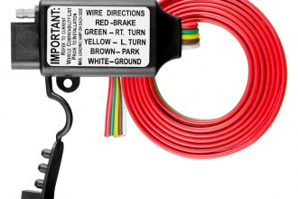 CURT® - Non-powered 3-to-2-Wire Tail Light Converter