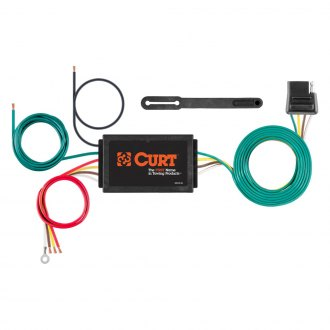 CURT® - 4-Way Flat Electrical Adapter