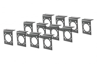 CURT® - 7-Way RV Blade Connector Socket Mounting Bracket