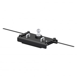 CURT® - Gooseneck Hitch with Removable Trailer Ball