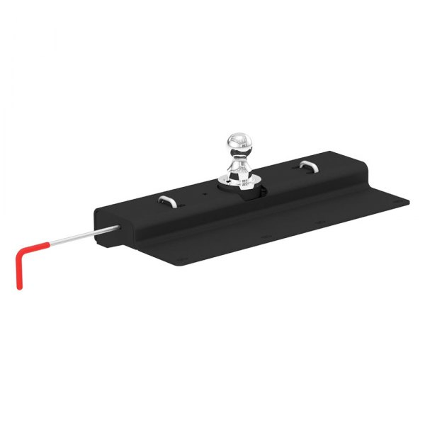 "CURT® - Under-Bed Double Lock Gooseneck Hitch (With Removable Chrome 2-5/16"" Trailer Ball)"